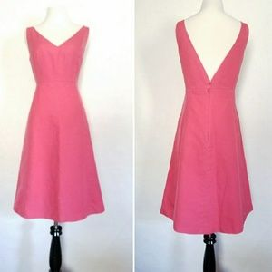 J. Crew Sleeveless Fit and Flare Dress